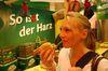 Luise genießt die deutsche Wurstvielfalt