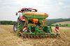 Die Amazone AD-P 303 Special ist bereit für die Aussaat von Sojabohnen