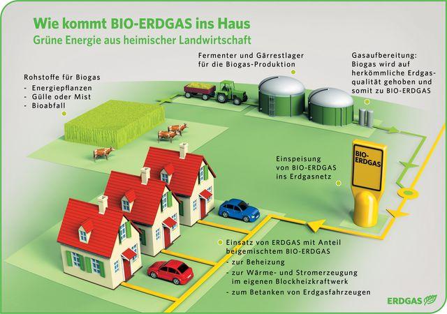 Vielseitiger Einsatz Von Bio-Erdgas