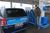 Betanken eines Erdgasfahrzeugs