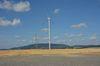 Am 5. Juli 2014 fand ein Windparkfest auf dem Hungerberg statt. Foto: Peter Gaß