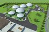 MVV Energie und BayWa r.e. bauen eine Biomethan-Anlage in Straßfurt. Grafik: MVV Energie