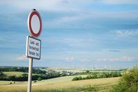 Landwirtschaftlicher Verkehr frei. Foto: Peter Gaß