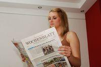 Am 12. Juli 2012 wurde im Wochenblatt erstmals ein Arikel mit einem Foto von Peter Gaß illustriert. Foto: Peter Gaß