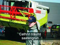 Cathrin träumt saatengrün. Foto: Peter Gaß